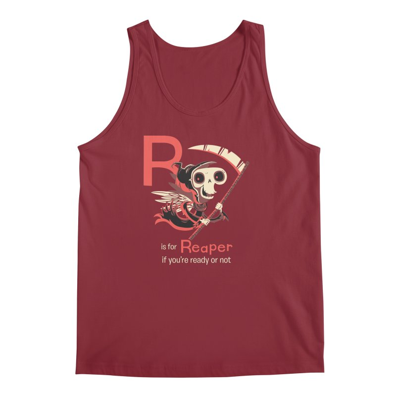 R is for Reaper Men's Tank by Hazy Dell Press