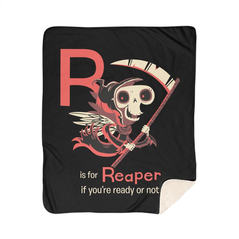 R is for Reaper Home Blanket by Hazy Dell Press