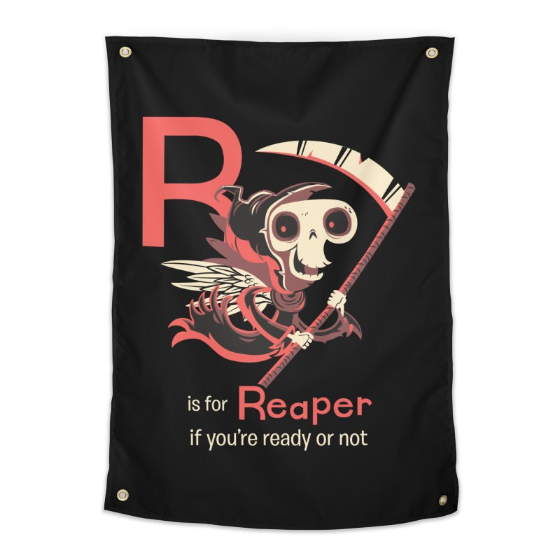 R is for Reaper Home Tapestry by Hazy Dell Press