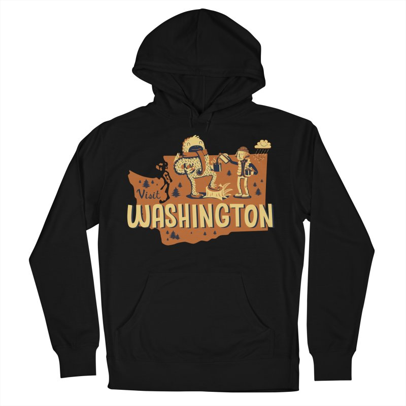 Visit Washington Women's Pullover Hoody by Hazy Dell Press