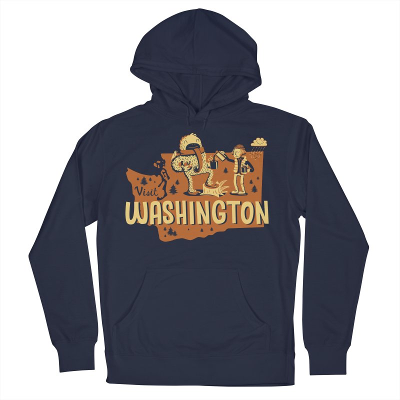 Visit Washington Women's Pullover Hoody by Hazy Dell Press