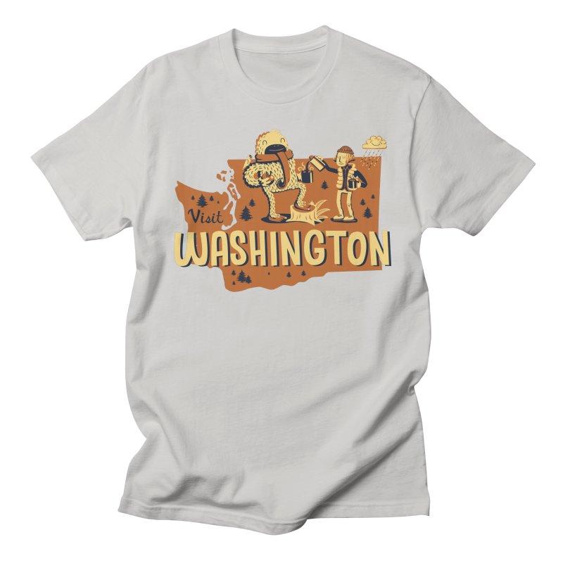 Visit Washington Women's Unisex T-Shirt by Hazy Dell Press