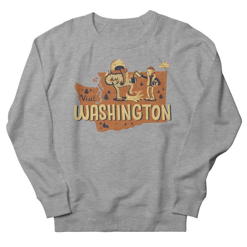 Visit Washington Women's Sweatshirt by Hazy Dell Press