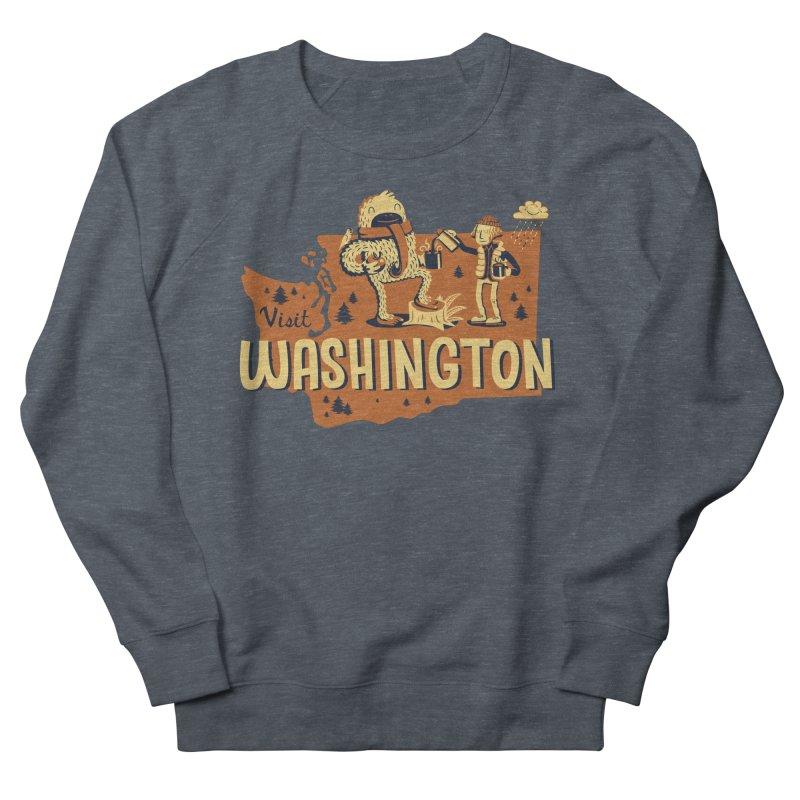 Visit Washington Men's Sweatshirt by Hazy Dell Press