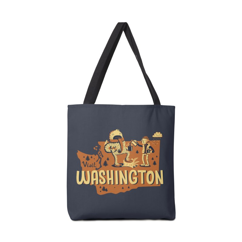 Visit Washington Accessories Bag by Hazy Dell Press