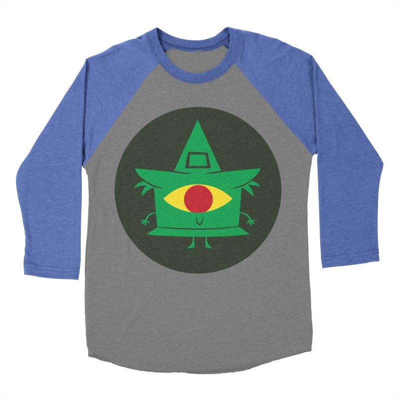 Hazy Dell Press Logo Men's Baseball Triblend Longsleeve T-Shirt by Hazy Dell Press