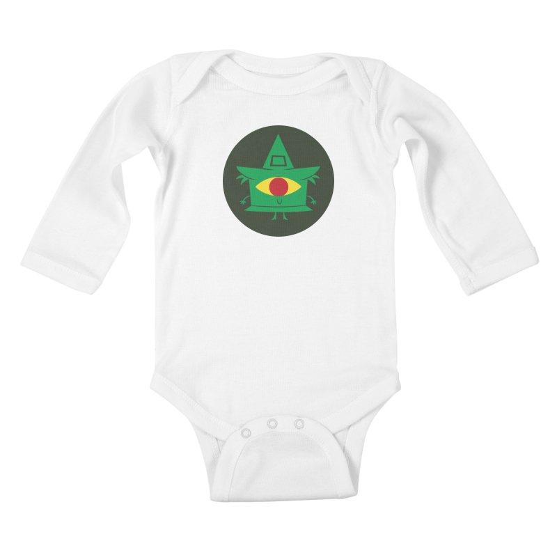 Hazy Dell Press Logo Kids Baby Longsleeve Bodysuit by Hazy Dell Press