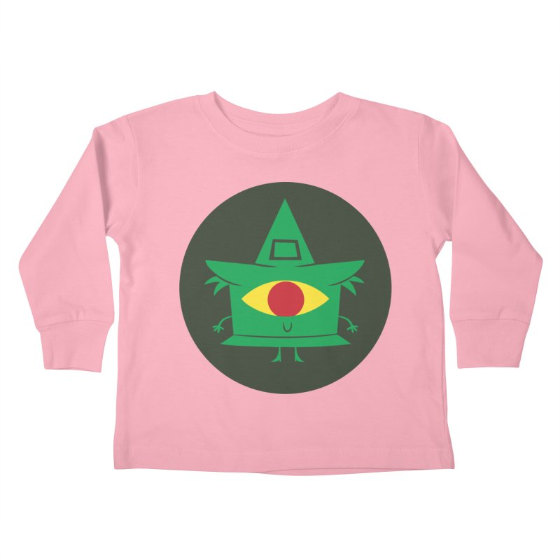 Hazy Dell Press Logo Kids Toddler Longsleeve T-Shirt by Hazy Dell Press