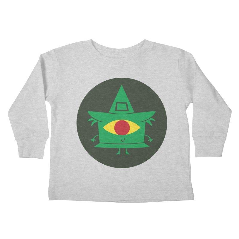 Hazy Dell Press Logo Kids Toddler Longsleeve T-Shirt by Hazy Dell Press