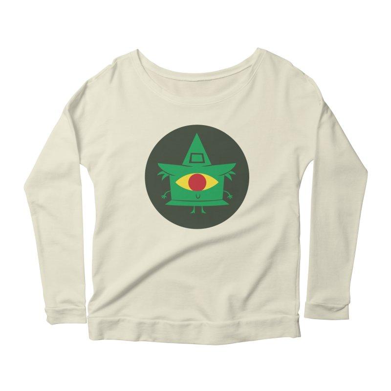 Hazy Dell Press Logo Women's Scoop Neck Longsleeve T-Shirt by Hazy Dell Press
