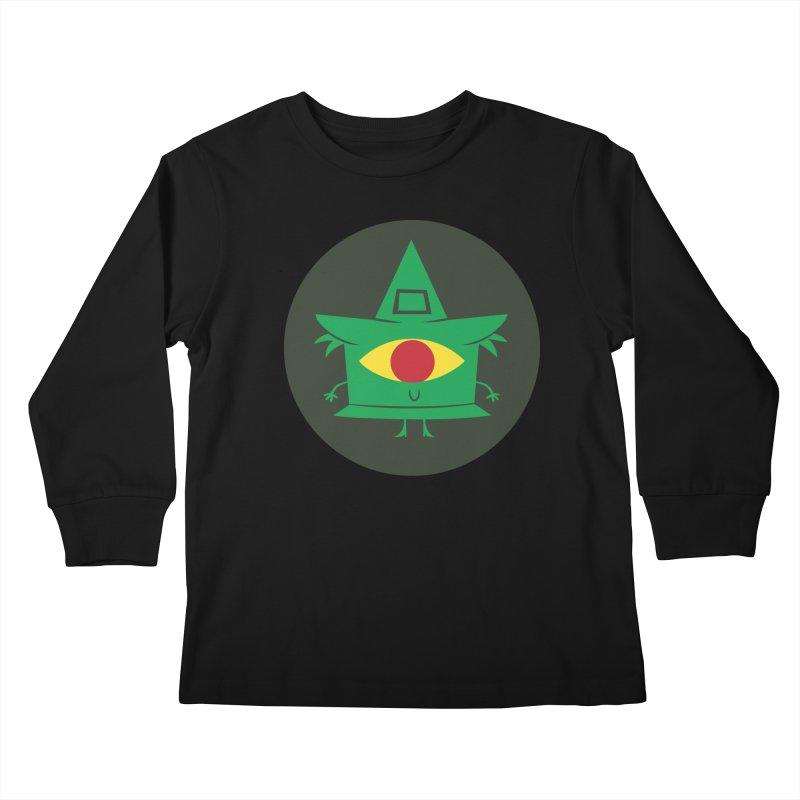 Hazy Dell Press Logo Kids Longsleeve T-Shirt by Hazy Dell Press