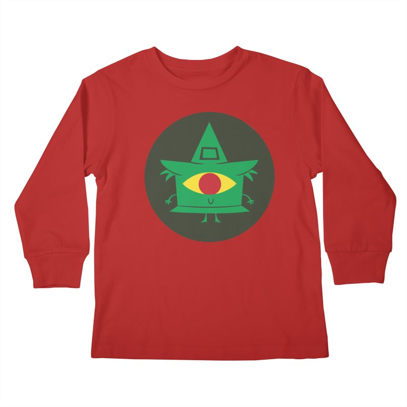 Hazy Dell Press Logo Kids Longsleeve T-Shirt by Hazy Dell Press