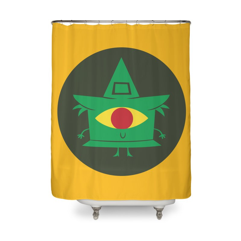 Hazy Dell Press Logo Home Shower Curtain by Hazy Dell Press