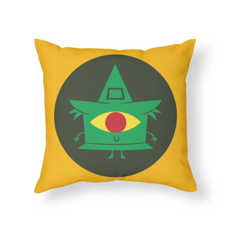 Hazy Dell Press Logo Home Throw Pillow by Hazy Dell Press
