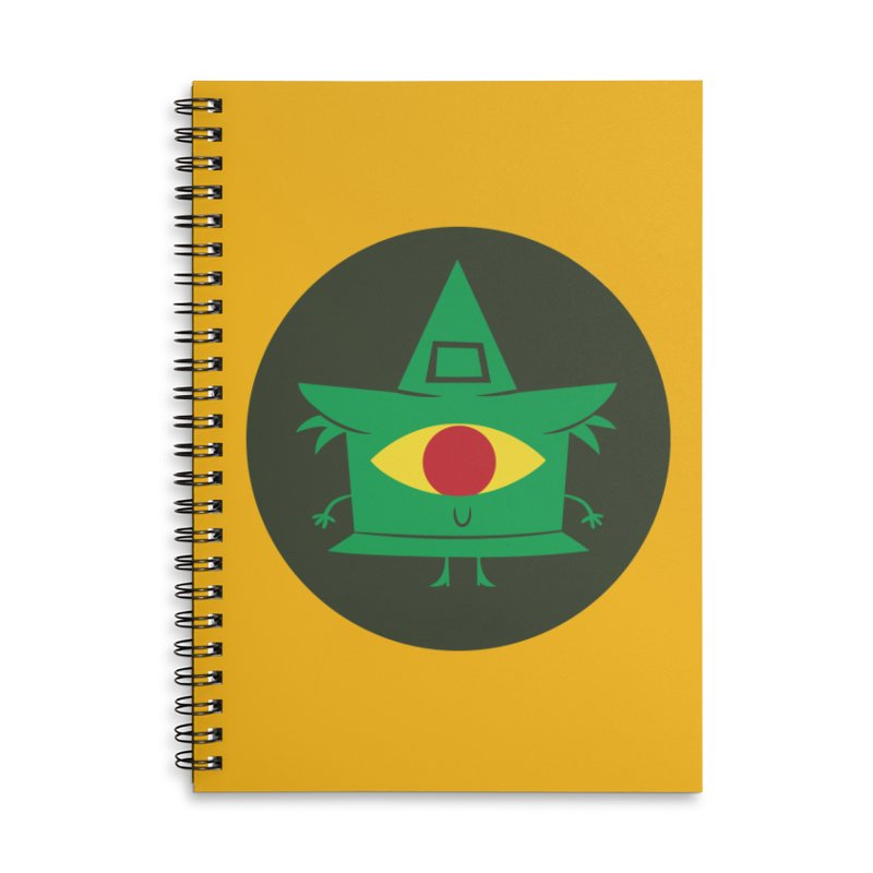 Hazy Dell Press Logo Accessories Lined Spiral Notebook by Hazy Dell Press