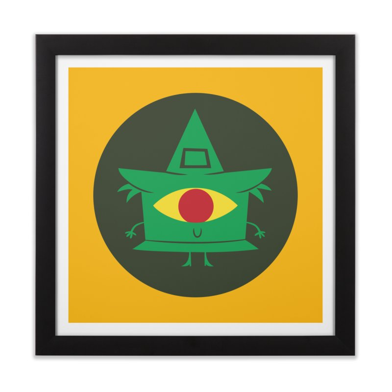 Hazy Dell Press Logo Home Framed Fine Art Print by Hazy Dell Press