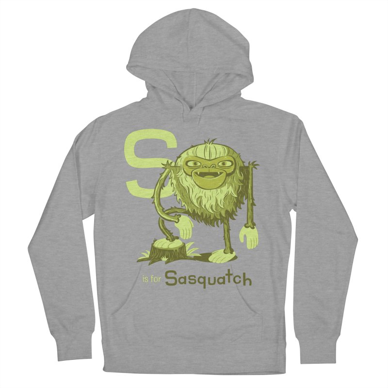 S is for Sasquatch Men's Pullover Hoody by Hazy Dell Press