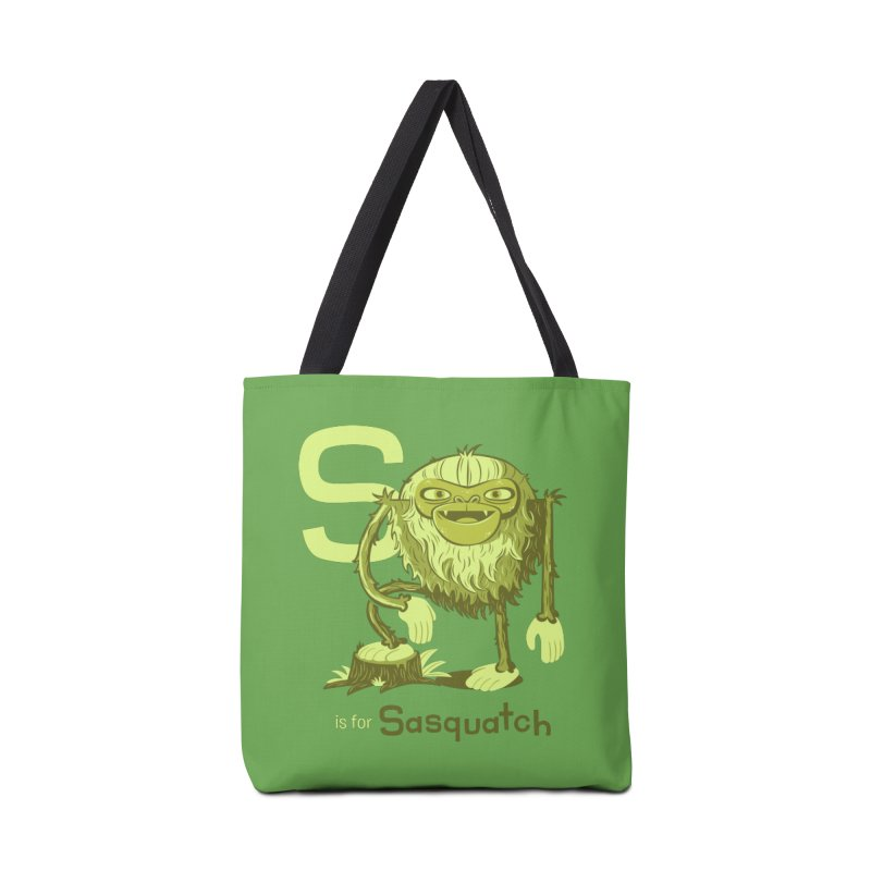 S is for Sasquatch Accessories Bag by Hazy Dell Press