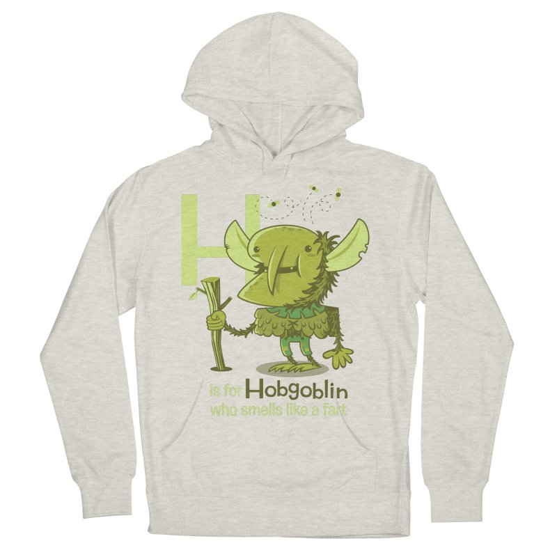 H is for Hobgoblin Women's Pullover Hoody by Hazy Dell Press