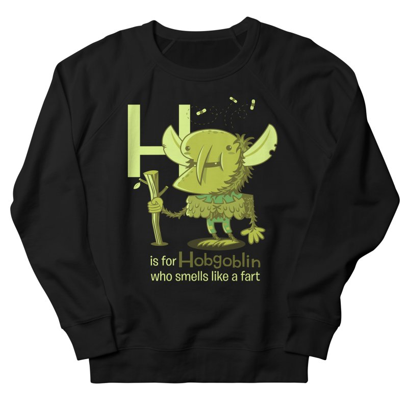 H is for Hobgoblin Men's Sweatshirt by Hazy Dell Press