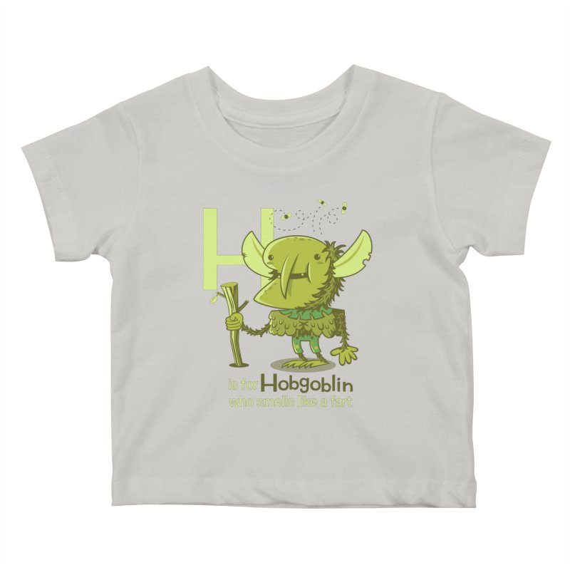 H is for Hobgoblin Kids Baby T-Shirt by Hazy Dell Press