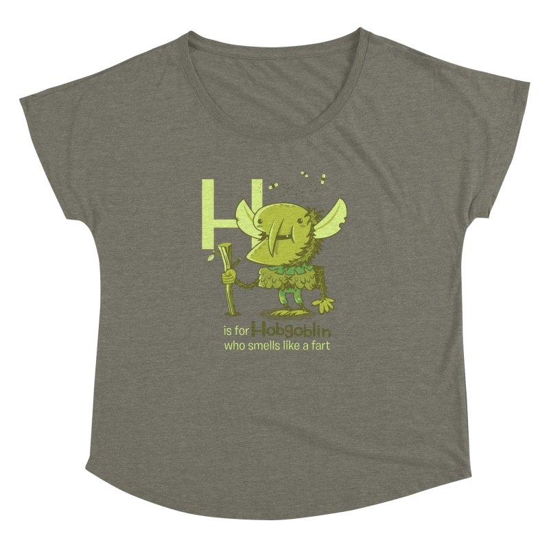 H is for Hobgoblin Women's Dolman by Hazy Dell Press