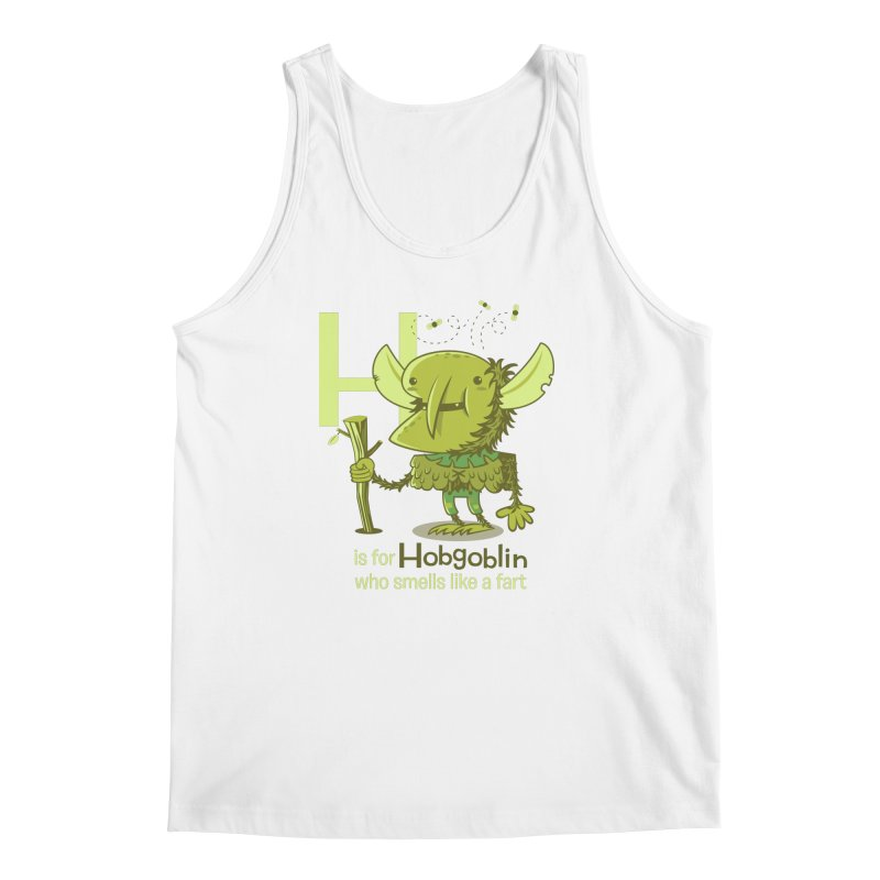 H is for Hobgoblin Men's Regular Tank by Hazy Dell Press