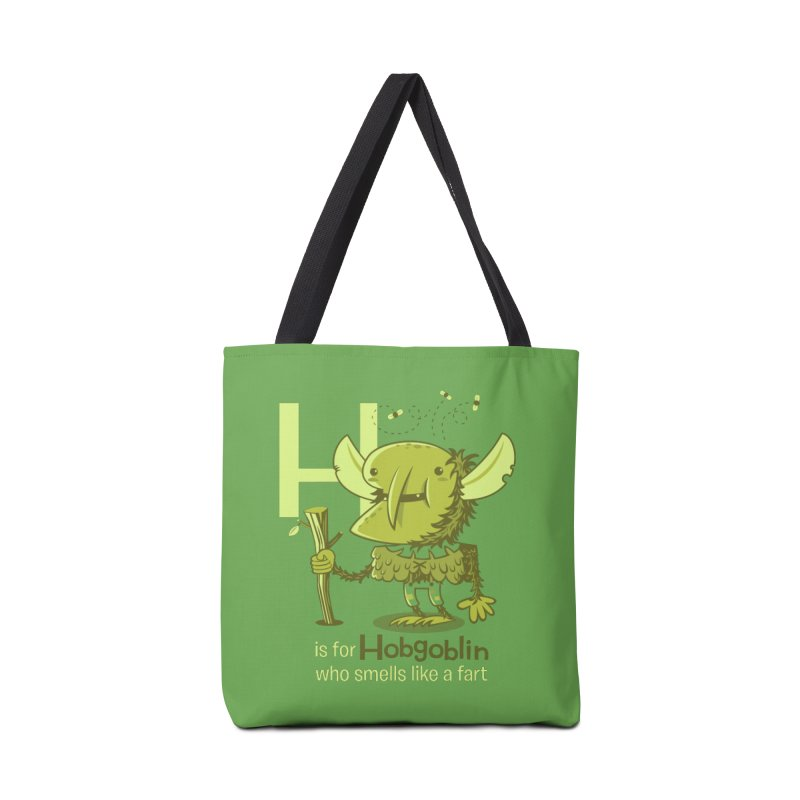 H is for Hobgoblin Accessories Bag by Hazy Dell Press