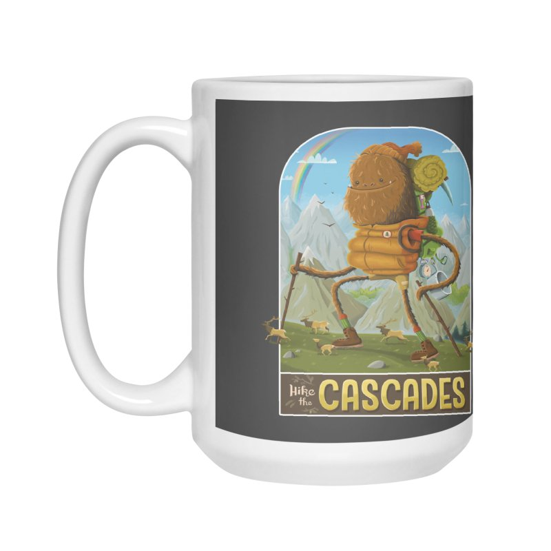 Hike the Cascades Accessories Mug by Hazy Dell Press
