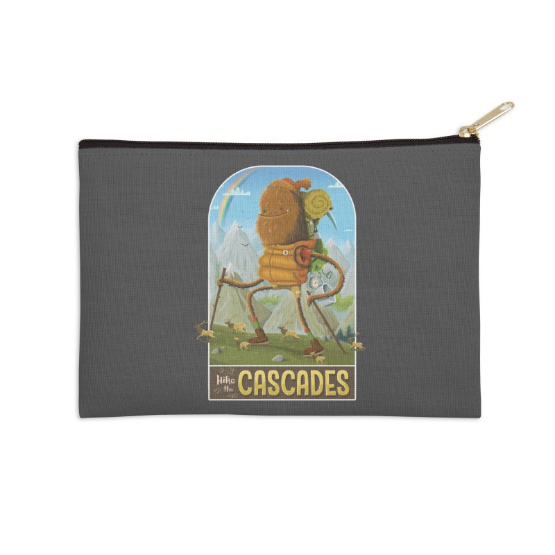 Hike the Cascades Accessories Zip Pouch by Hazy Dell Press