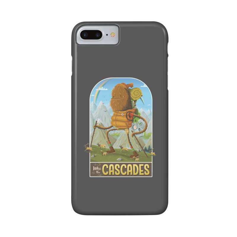 Hike the Cascades Accessories Phone Case by Hazy Dell Press
