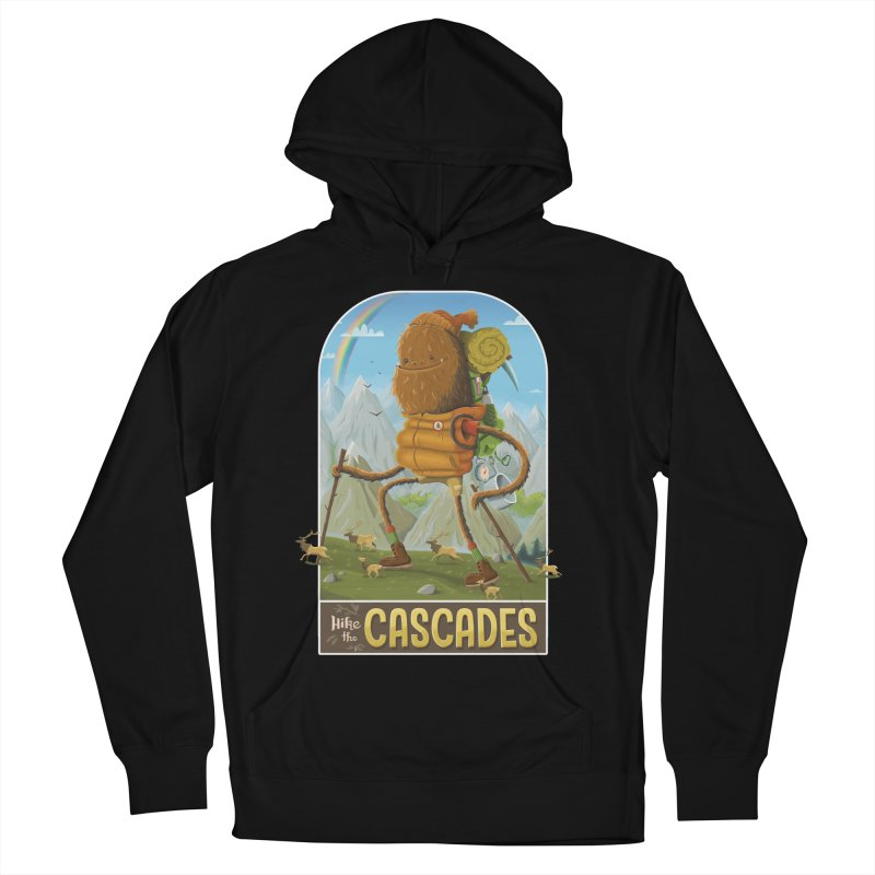Hike the Cascades Men's Pullover Hoody by Hazy Dell Press