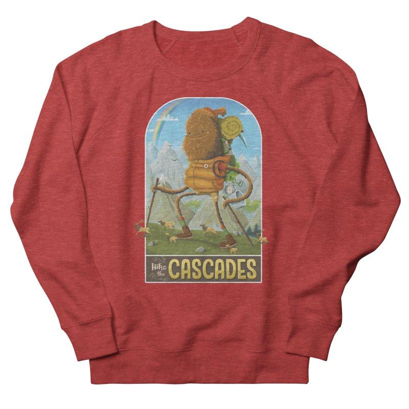 Hike the Cascades Women's Sweatshirt by Hazy Dell Press
