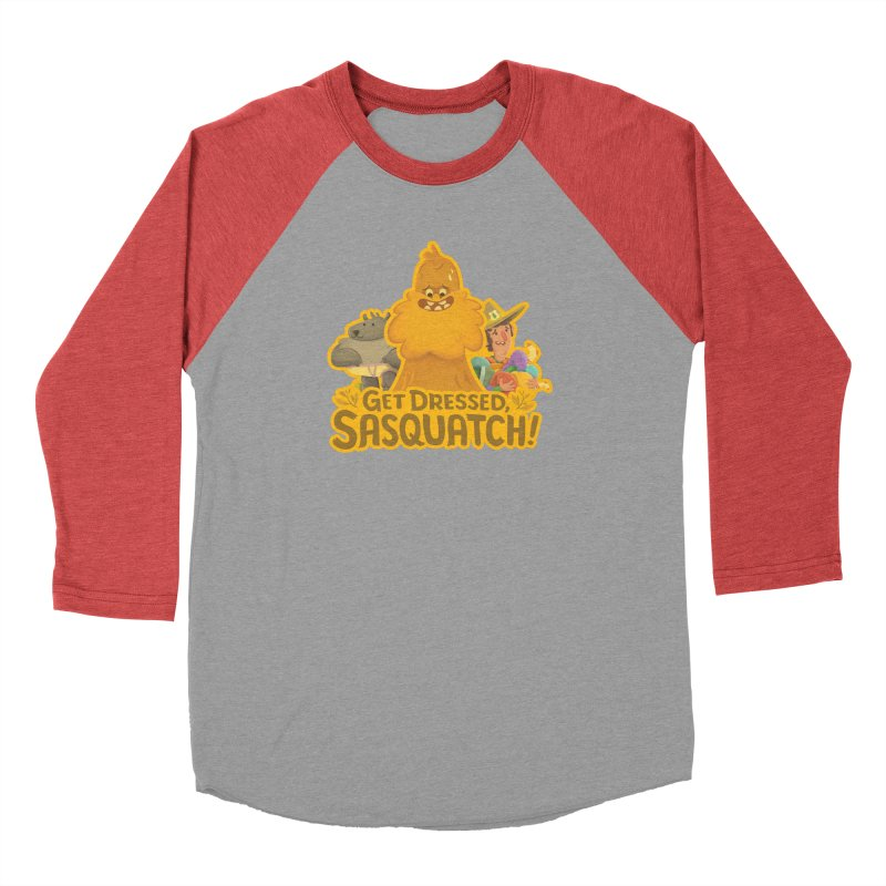 Get Dressed, Sasquatch! Men's Longsleeve T-Shirt by Hazy Dell Press