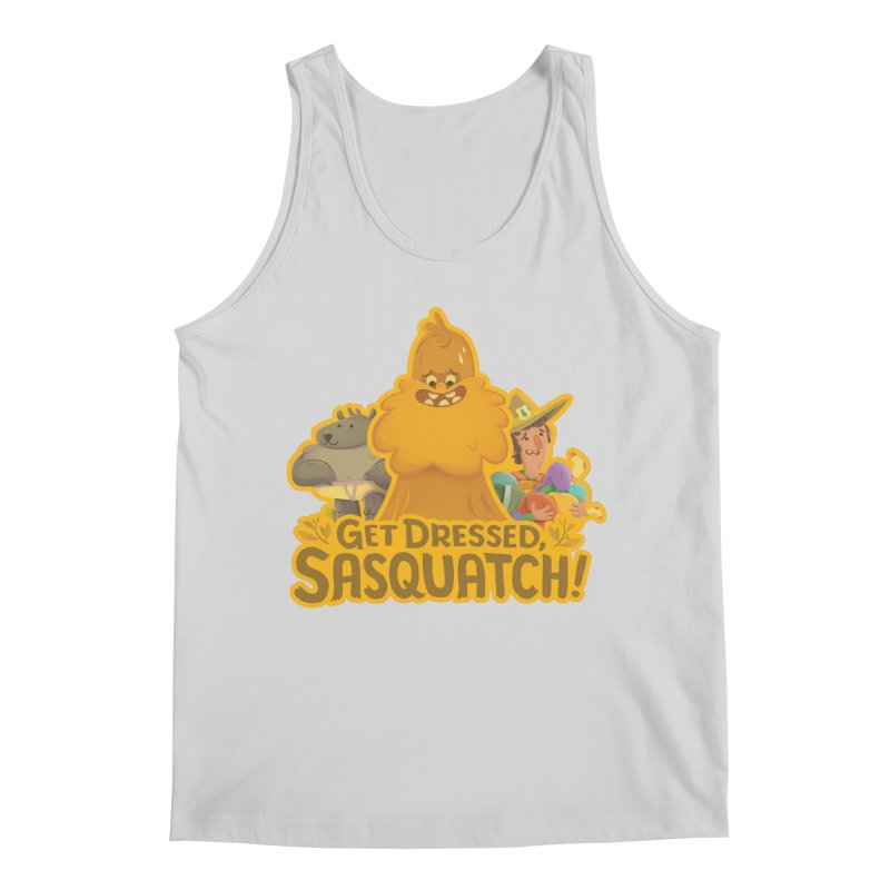 Get Dressed, Sasquatch! Men's Regular Tank by Hazy Dell Press