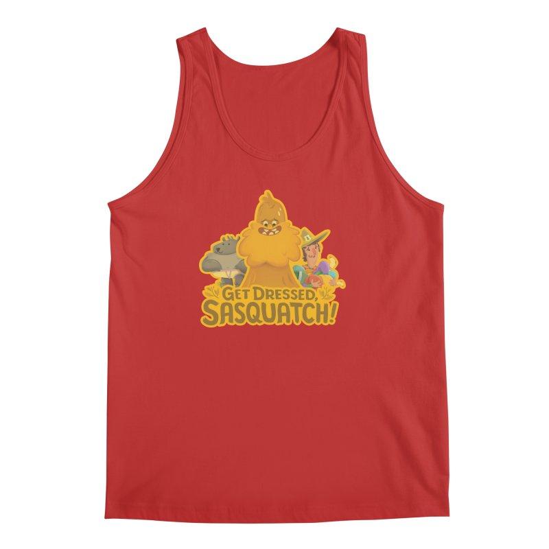 Get Dressed, Sasquatch! Men's Tank by Hazy Dell Press
