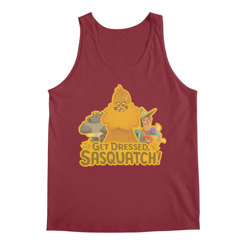 Get Dressed, Sasquatch! Men's Tank by Hazy Dell Press