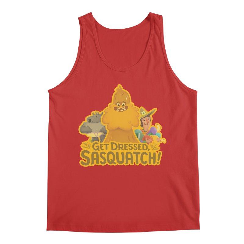 Get Dressed, Sasquatch! Men's Regular Tank by Hazy Dell Press