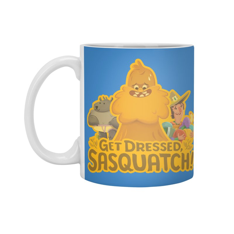Get Dressed, Sasquatch! Accessories Standard Mug by Hazy Dell Press