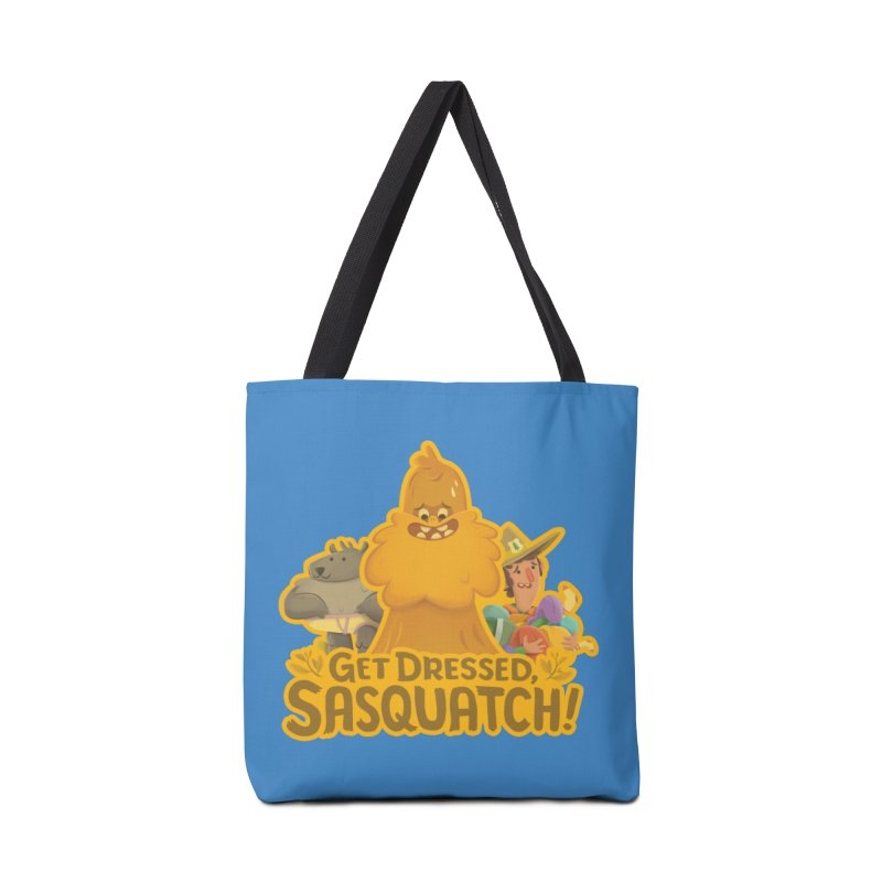 Get Dressed, Sasquatch! Accessories Bag by Hazy Dell Press