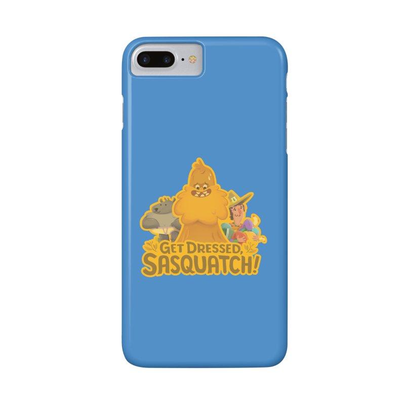 Get Dressed, Sasquatch! Accessories Phone Case by Hazy Dell Press