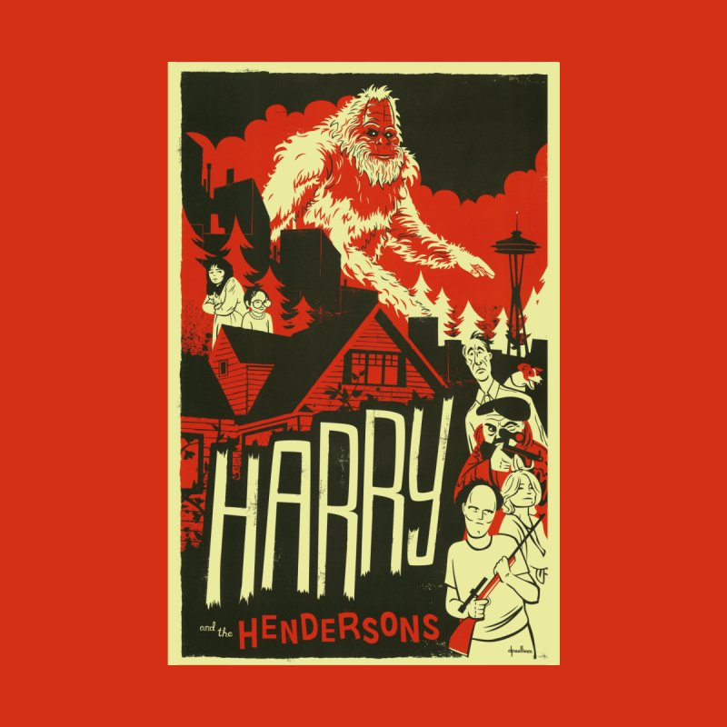 Harry and the Hendersons Home Rug by Hazy Dell Press