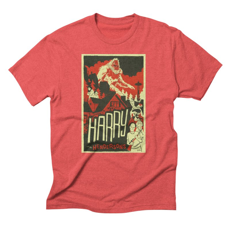 Harry and the Hendersons Men's T-Shirt by Hazy Dell Press