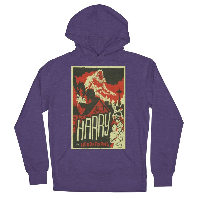 Harry and the Hendersons Women's Pullover Hoody by Hazy Dell Press