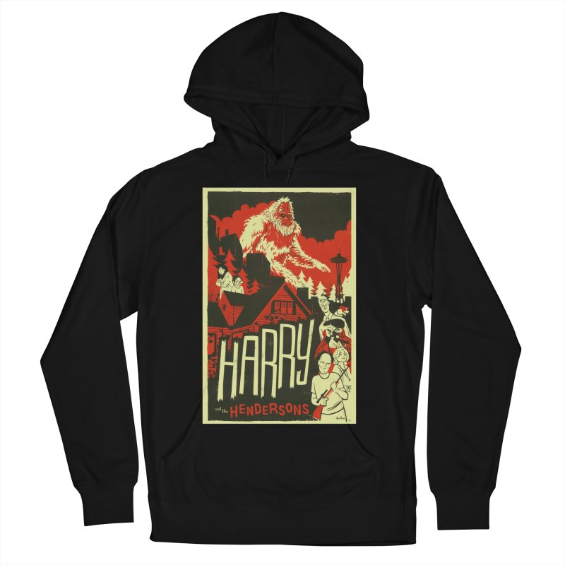 Harry and the Hendersons Women's French Terry Pullover Hoody by Hazy Dell Press