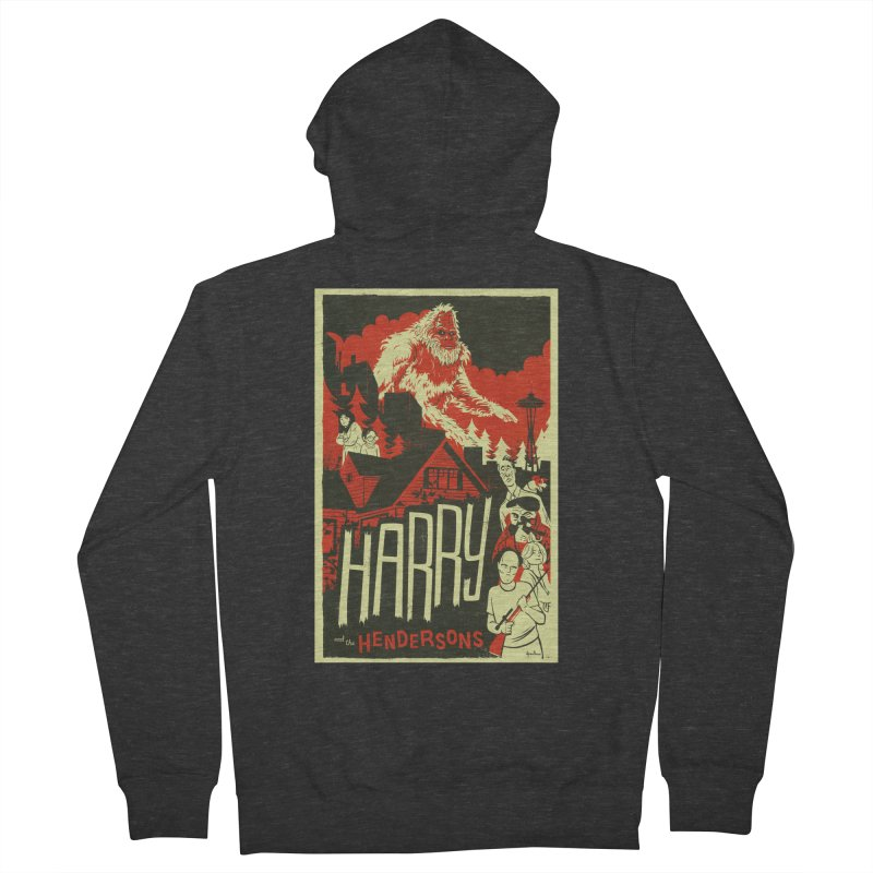 Harry and the Hendersons Women's Zip-Up Hoody by Hazy Dell Press