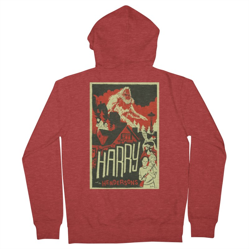 Harry and the Hendersons Women's French Terry Zip-Up Hoody by Hazy Dell Press