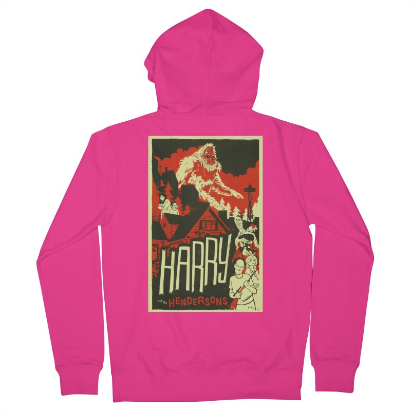 Harry and the Hendersons Men's Zip-Up Hoody by Hazy Dell Press