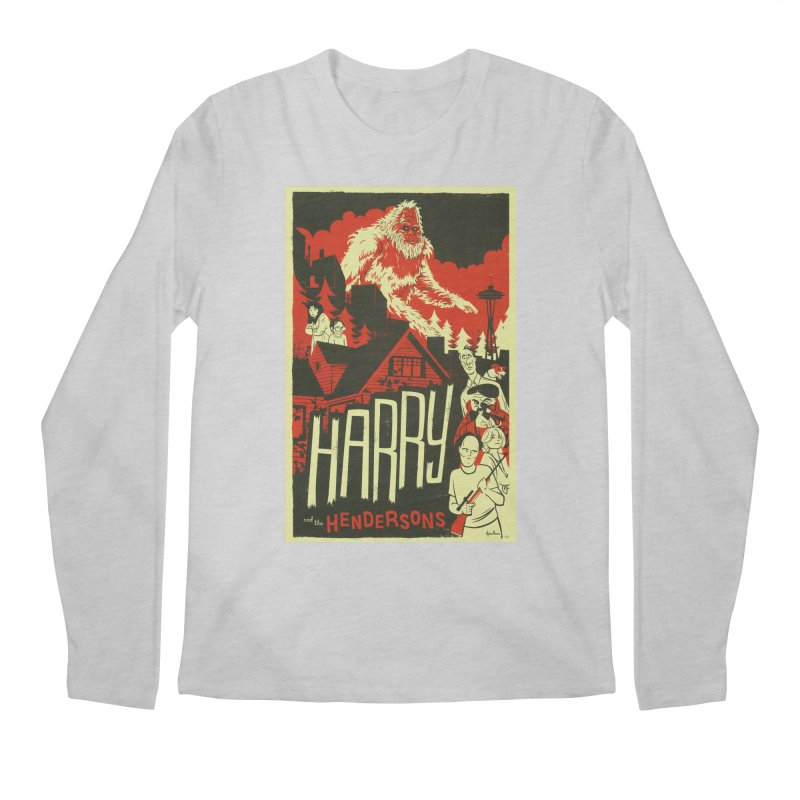 Harry and the Hendersons Men's Regular Longsleeve T-Shirt by Hazy Dell Press