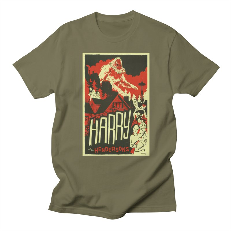 Harry and the Hendersons Women's Regular Unisex T-Shirt by Hazy Dell Press